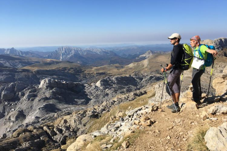 Ruta de las Golondrinas. Trekking por el pirineo occidental